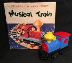 Vintage PMC Hong Kong Battery Operated Musical Train