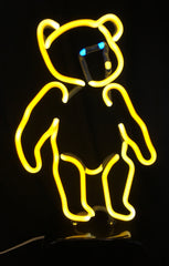Grateful Dead Dancing Bear Custom Neon