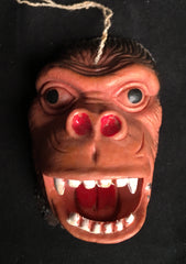 Vintage Hong Kong Rubber King Kong Head