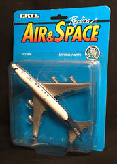 1991 ERTL Die Cast Replica Air and Space Boeing Passenger Jet 747-200