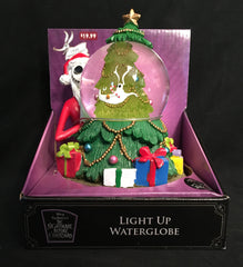 2019 Nightmare Before Christmas Light Up Water Globe