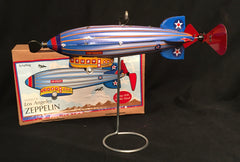 Tin Wind Up Retro Los Angeles Zeppelin by Schylling