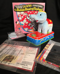 Japan Tomy Takara Jumbo The Bubble Blowing Elephant Limited Edition