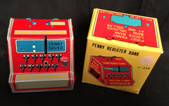 Vintage Walgreens Advertising Tin Penny Register Bank