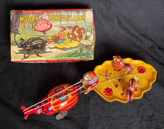 Vintage TPS Japan Wind Up Fantasy Land Wagon
