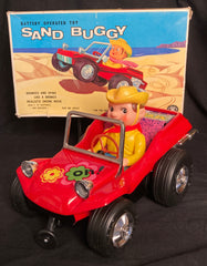 Vintage Modern Toys Japan Battery Operated Dune Buggy