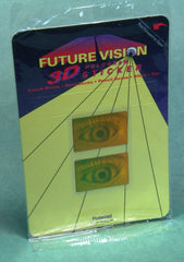 1993 Poloroid Future Vision 3D Hologram Stickers