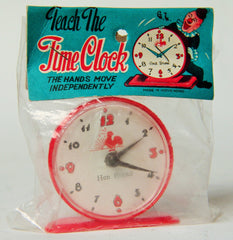 Vintage Hong Kong Teach The Time Clock