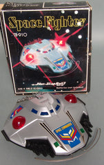 Vintage Taiwan Battery Operated Space Fighter