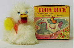 Vintage Dora The Duck Wind Up