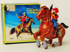 Vintage MTU Korea Cowboy On Horse