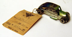 Vintage Japan Tin Sales Sample Automobile
