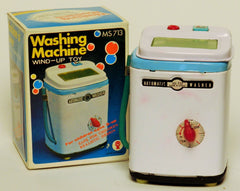 Vintage China Wind up Tin Washing Machine