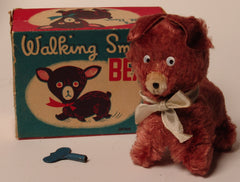 Walking Small Bear Japan Wind Up