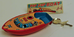 Japanese Tin B 68 Pop Pop Boat