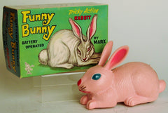 Marx Hong Kong Battery Operated Tricky Action Funny Bunny