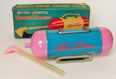 Vintage TN Japan Battery Operated Tin Vacuum Cleaner