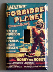 Robby The Robot Forbidden Planet Wall Switch Plate