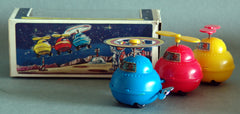 Vintage Yone Japan Space Helicopter Windup
