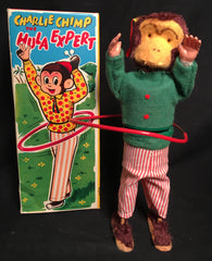Vintage Charlie Chimp The Hula Expert Wind Up