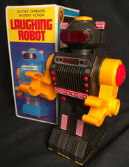 Vintage Yonezowa Japan Laughing Robot