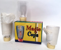 Vintage Hong Kong Magic Cup Risque Drinking Glasses