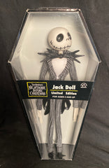 Applause Nightmare Before Christmas Limited Edition Jack Doll In Coffin