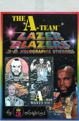 The A Team Lazer Blazer Holographic Stickers