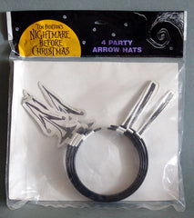 1993 Nightmare Before Christmas Arrow Party Hats