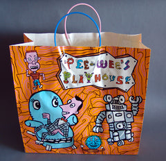 Pee Wee Herman Shopping Bag