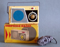 1950's Japan Tin Surprise Radio