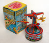 Vintage Yone Japan Wind Up Vacation Land Airplane Ride