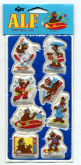 Alf Puffy Sticker Set By Russ