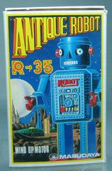 Japan R-35 Robot Wind Up - Box Only!