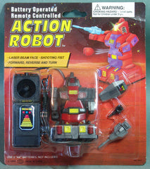 1993 Soma Red Action Robot