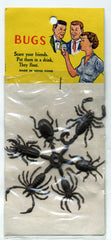 Scare Your Friends With These Vintage Hong Kong Plastic Bugs