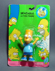 The Simpson's  Bart Bendable Action Figure