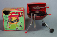 Japan Tin Bar-B-Q Set With All Accessories