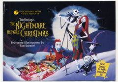 1993 Nightmare Before Christmas Promo Book