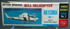 Vintage Japan Huey Cobra Bell Helicopter Box Only