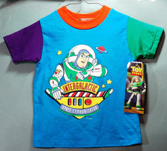 Toy Story Buzz And Woody Toddler Tee Shirts