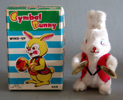 Vintage Japan Wind Up Cymbal Bunny