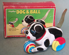 Schylling Tin Dog And Ball