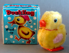 Vintage Japan Wind Up Duckling
