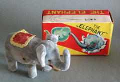Vintage Japan Wind Up The Elephant