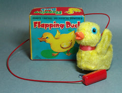 Vintage Duck Wind Up With Flapping Wings