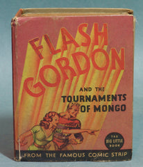 Flash Gordon Tournaments of Mongo Big Little Book