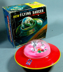 Battery Operated Hong Kong New Flying Saucer