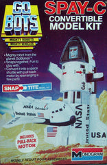 1984 Monogram Japan Spay-C Go Bot Model Kit