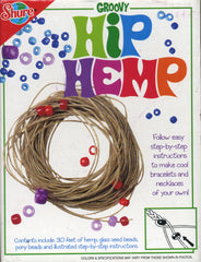 Groovy Hip Hemp Necklace & Bracelet Kit
